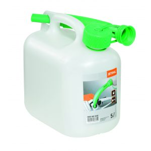 5 litre plastic fuel clear can