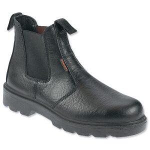 Sterling Slip-on safety boot black