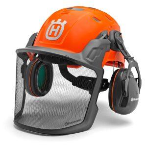 Technical forest helmet
