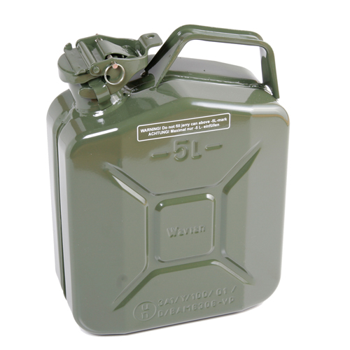 5 litre metal fuel can