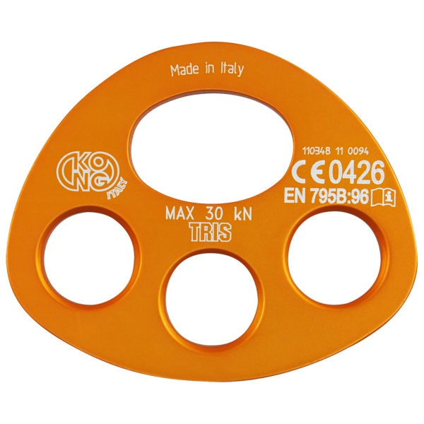 3 hole rigging plate