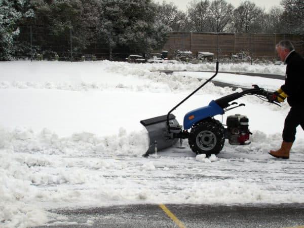 BCS Snow plough
