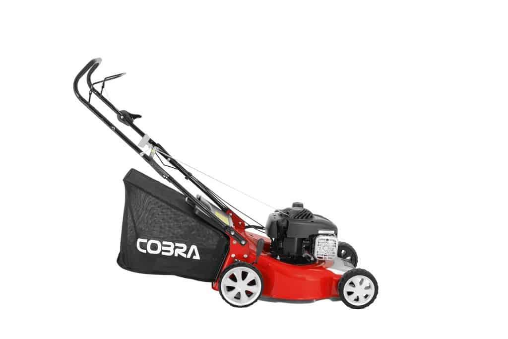 "Cobra M46B 18"" petrol lawnmower"