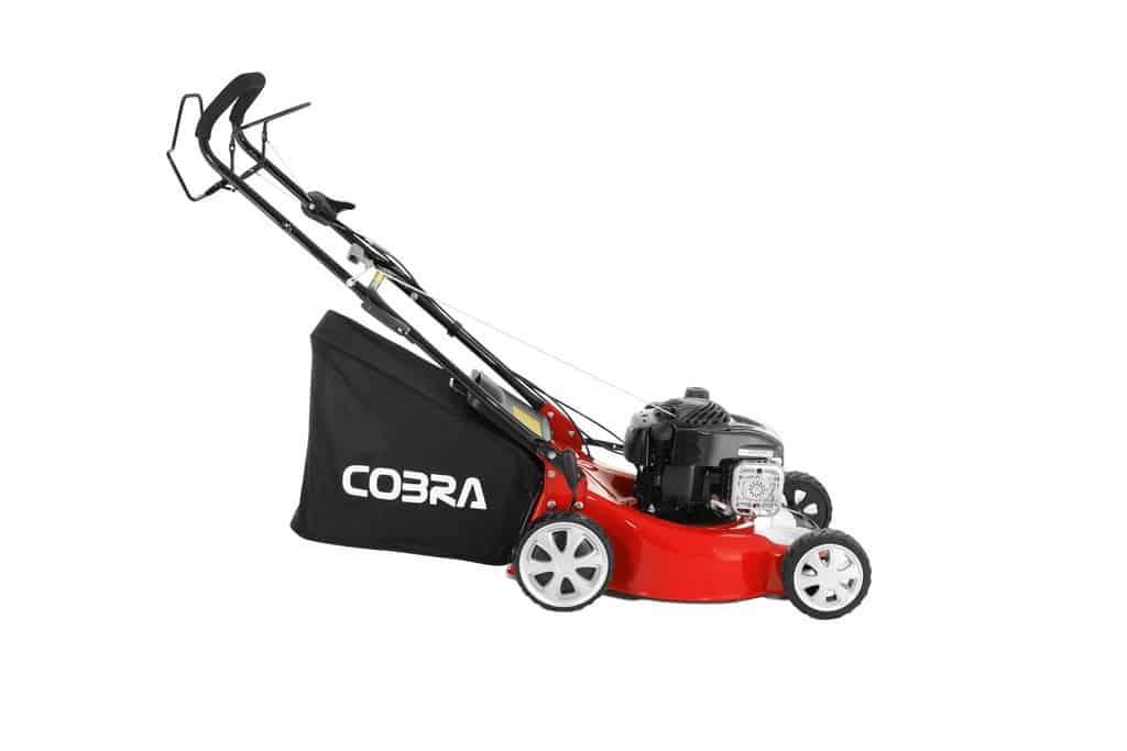"Cobra M46SPB 18"" petrol lawnmower"