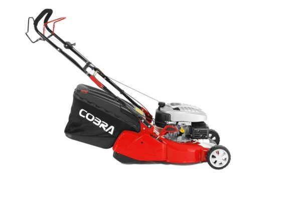 "Cobra RM46SPCE 18"" petrol lawnmower Electric start"