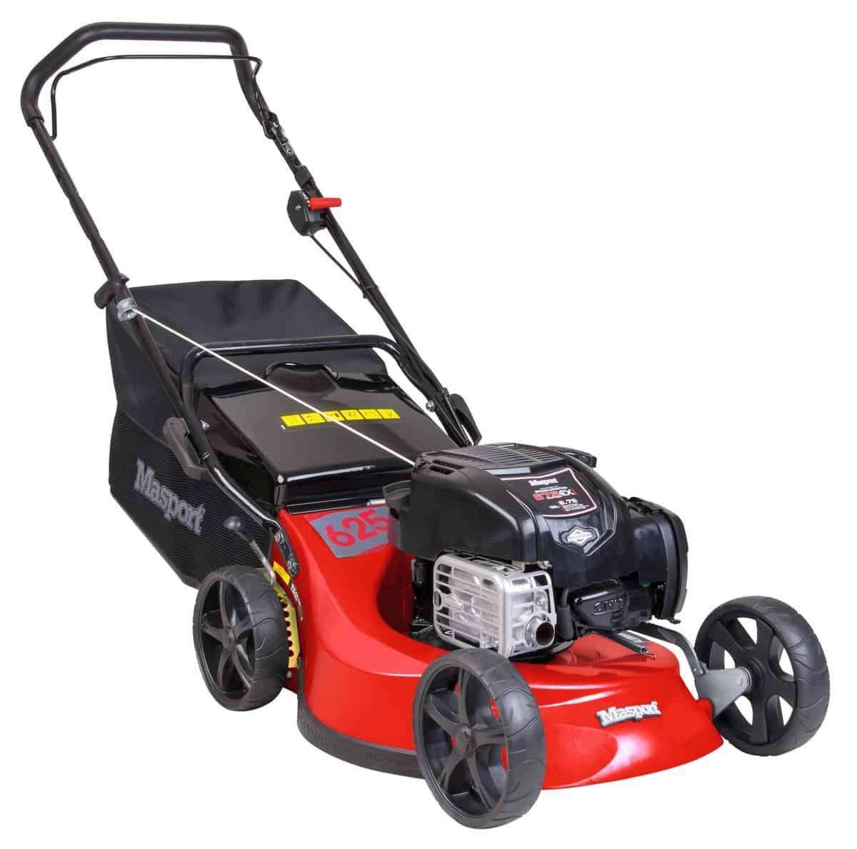 """Masport 19"""" Push Petrol Rotary Lawn Mower"""