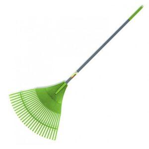 """Plastic leaf rake 24"""""""