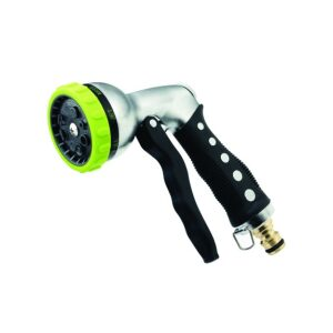 Metal Spray Gun 6 Function Rubber Grip